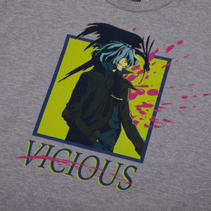 Cowboy Bebop Vicious Heather Grey Tee