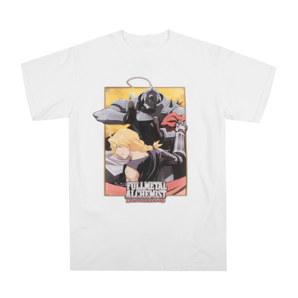 Full Metal Alchemist Circle White Tee