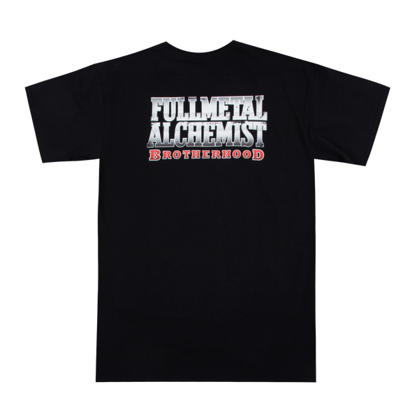 Full Metal Alchemist Brotherhood Black Tee