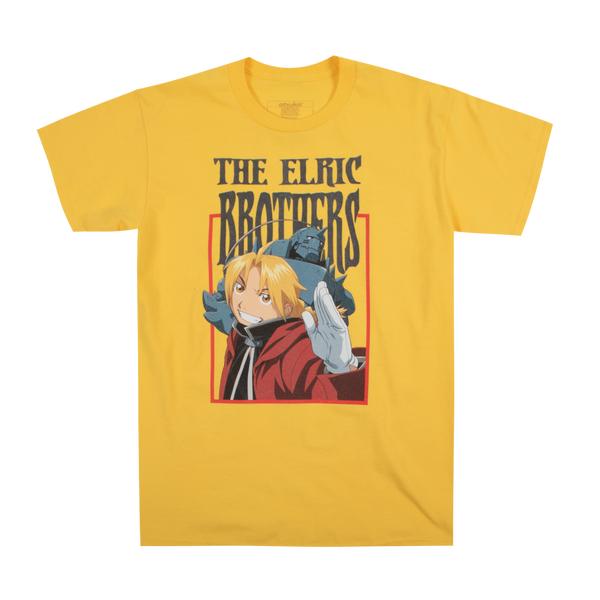 Full Metal Alchemist Brotherhood Yellow Tee