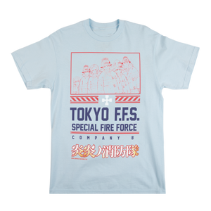 Fire Force Group Chambray Tee