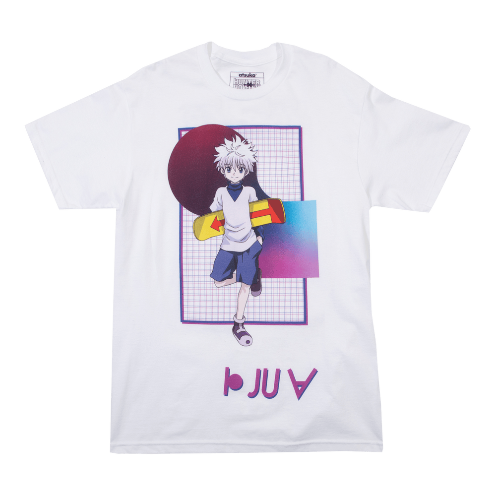 Hunter x Hunter Killua Speech White Tee
