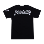 Aggretsuko Scream Black Tee