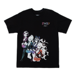 RWBY The Manga Team Black Tee