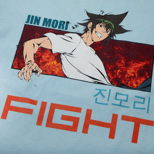 The God of High School Jin Mori Fight Chambray Tee