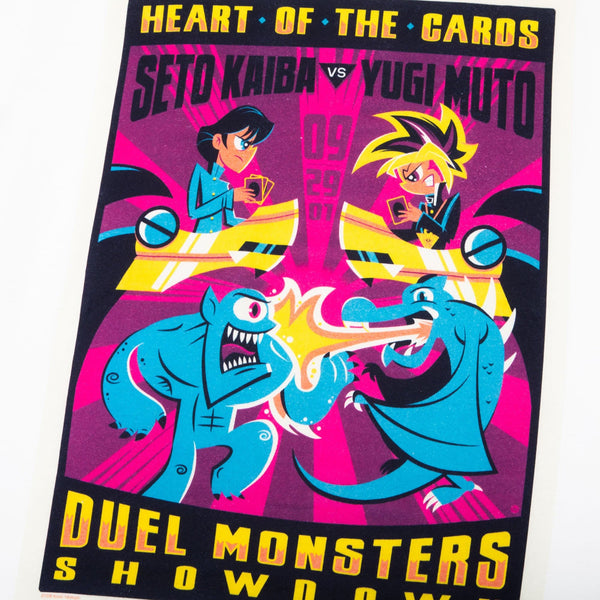 Yu-Gi-Oh! Gallery Collection Dave Perillo White Tee