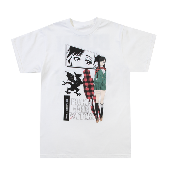 Burn the Witch Noel Niihashi White Tee