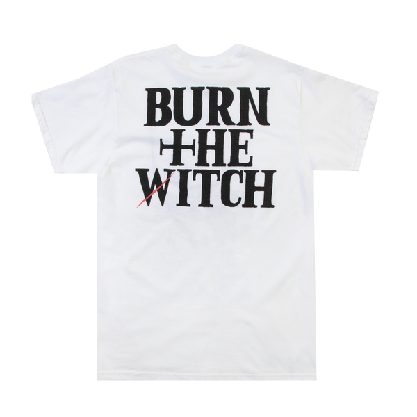 Burn the Witch Ninny Spangcole White Tee
