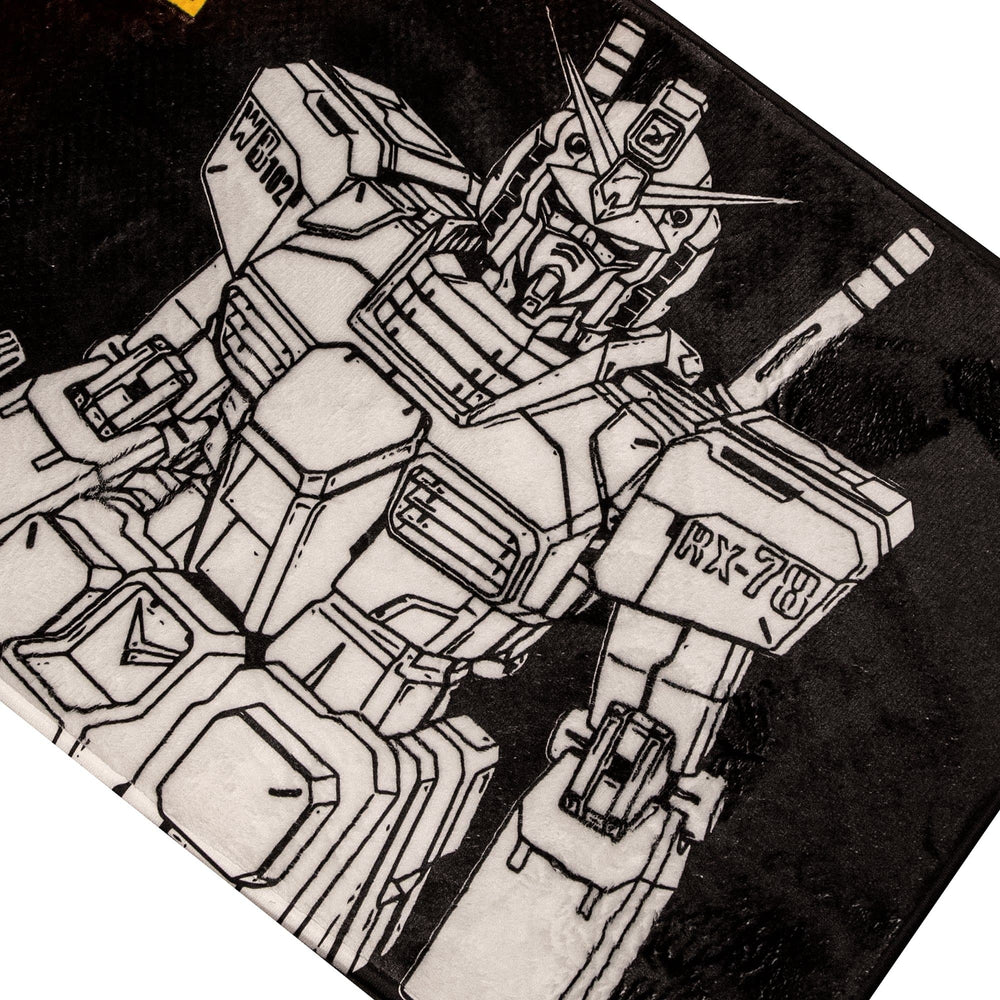 Gundam Mobile Suit Rug