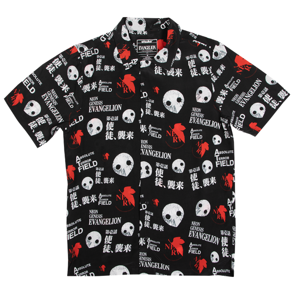 Neon Genesis Evangelion Button-Down Shirt