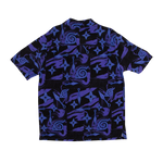 Naruto Konoha Shuriken Kunai Button-Up