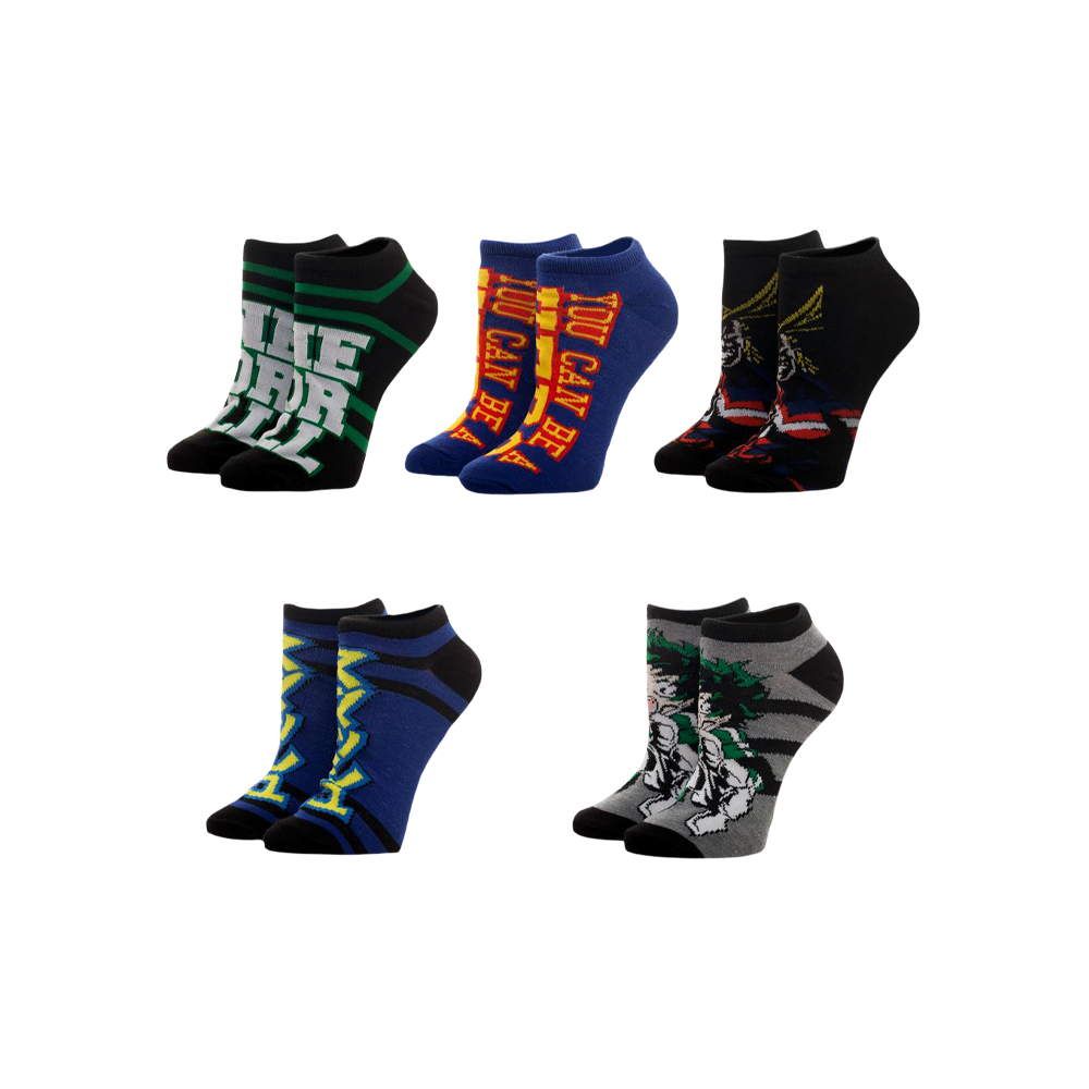 My Hero Academia Ankle Sock Set