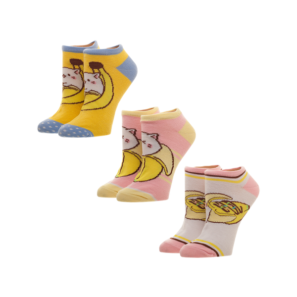 Bananya Ankle Socks