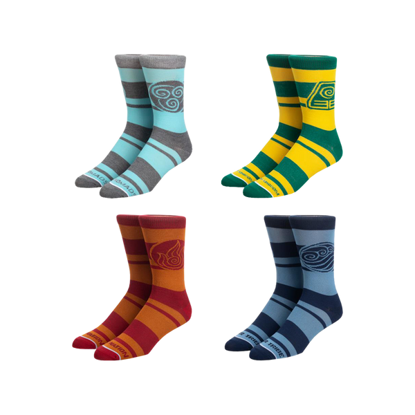 Avatar Four Pack Crew Socks