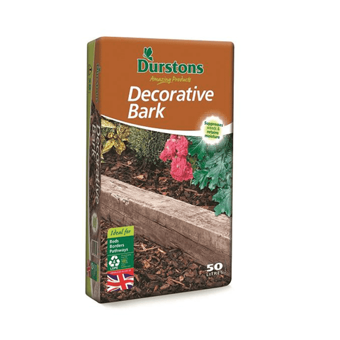 Durstons Decorative Bark – 50 Litre Bags
