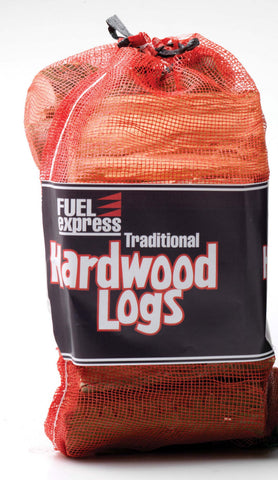 Klin Dried Hardwood Logs for Firewood, Pits, Open Fireand Stoves. Medium Bag
