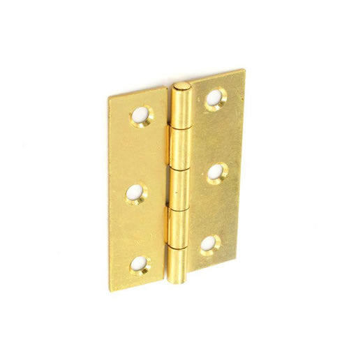 Securit-Steel Butt Hinges Brass plated