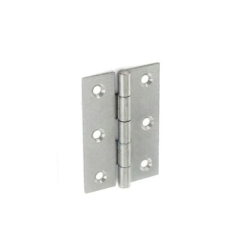 Securit-5050 Steel Narrow Butt Hinges Self colour
