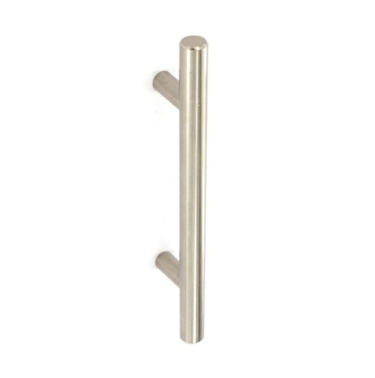 Securit-Brushed Nickel 12mm Cupboard Handles (2)