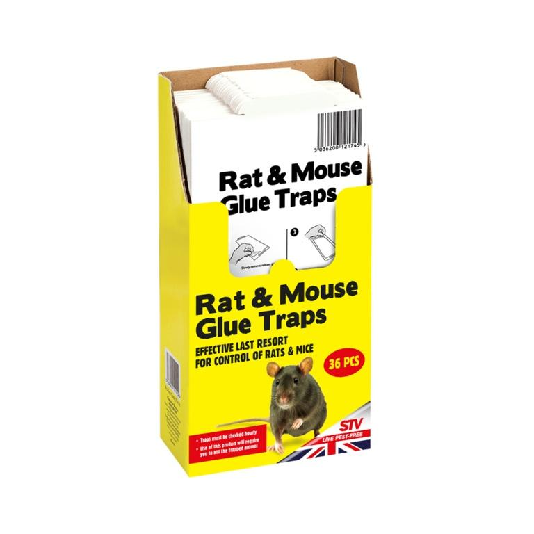 The Big Cheese-Rat  & Mouse Glue Trap