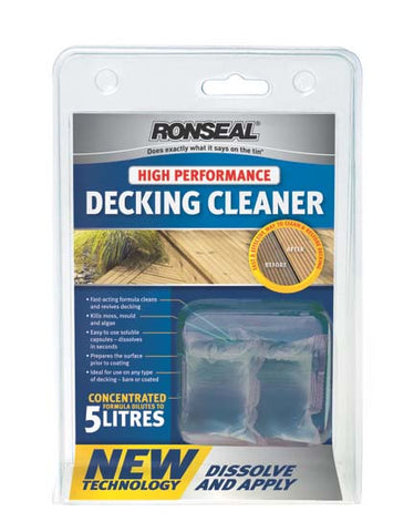 Ronseal-High Performance Decking Cleaner