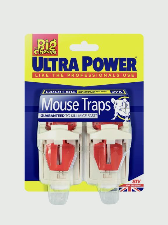 The Big Cheese-Ultra Power Mouse Traps