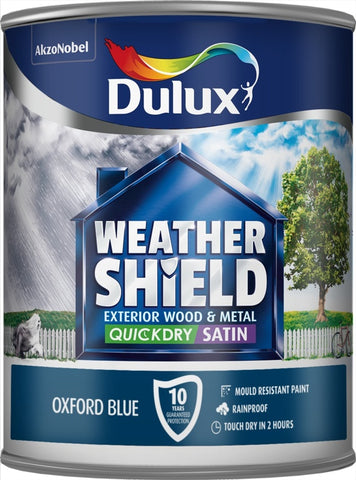 Dulux-Weathershield Quick Dry Exterior Satin 750ml