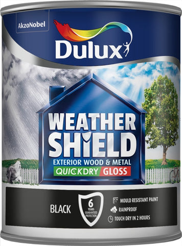 Dulux-Weathershield Exterior Quick Dry Gloss 750ml