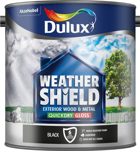 Dulux-Weathershield Exterior Quick Dry Gloss 2.5L