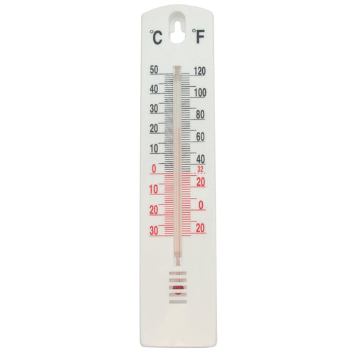 Task-Indoor/Outdoor Stick-On Thermometer