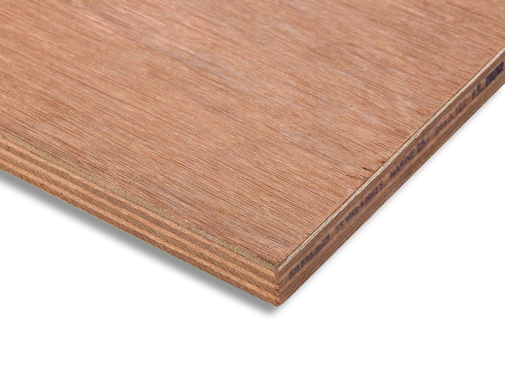 Hardwood Plywood Sheet External - 3.6mm X 2440mm X 1220mm