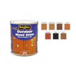 Rustins-Quick Dry Outdoor Woodstain 500ml