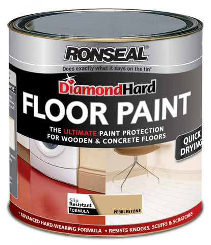 Ronseal-Diamond Hard Floor Paint 2.5L