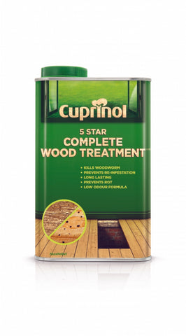 Cuprinol-5 Star Complete Wood Treatment