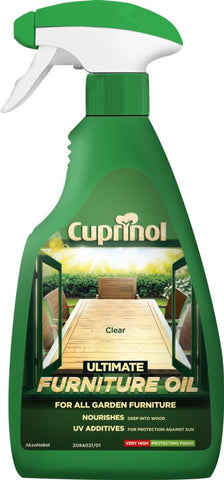 Cuprinol-Ultimate Hardwood Furniture Oil 500ml
