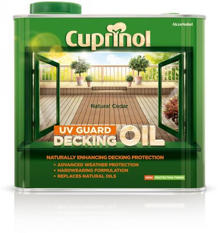 Cuprinol-UV Guard Decking Oil 2.5L