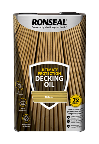 Ronseal-Ultimate Protection Decking Oil 5L