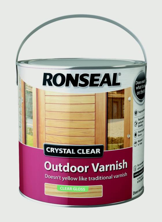 Ronseal-Crystal Clear Outdoor Varnish 2.5L