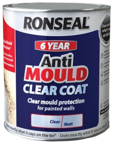 Ronseal-6 Year Anti Mould Clear Coat