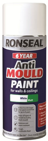 Ronseal-6 Year Quick Dry Anti Mould White