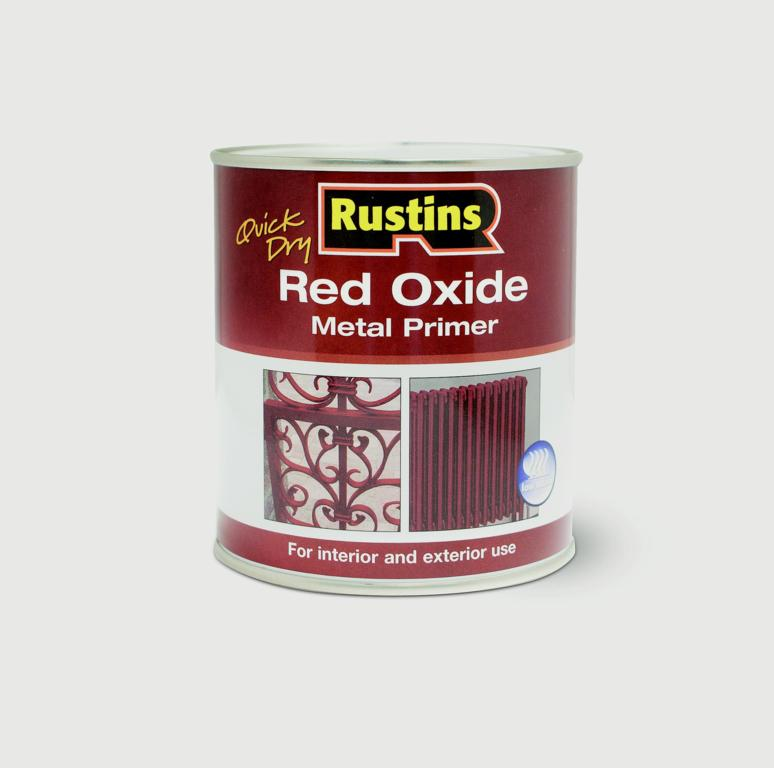 Rustins-Quick Drying Red Oxide Primer