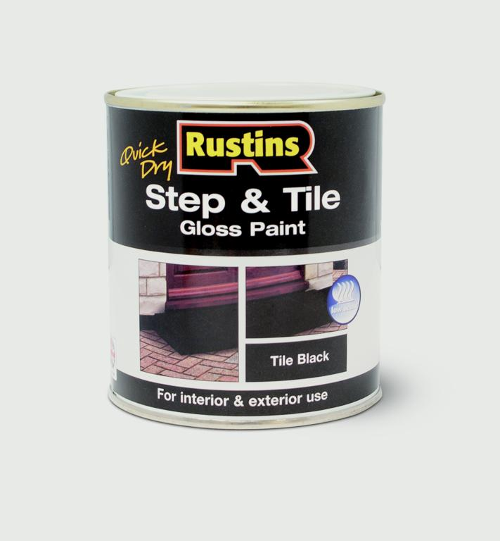 Rustins-Quick Drying Step Tile Black