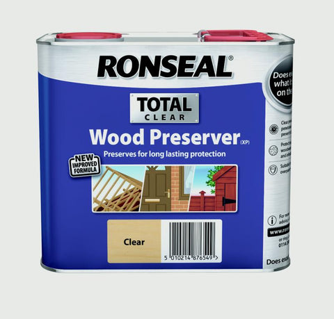 Ronseal-Total Wood Preserver 2.5L