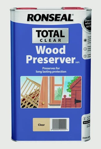Ronseal-Total Wood Preserver 5L