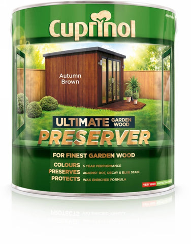 Cuprinol-Ultimate Garden Wood Preserver 4L