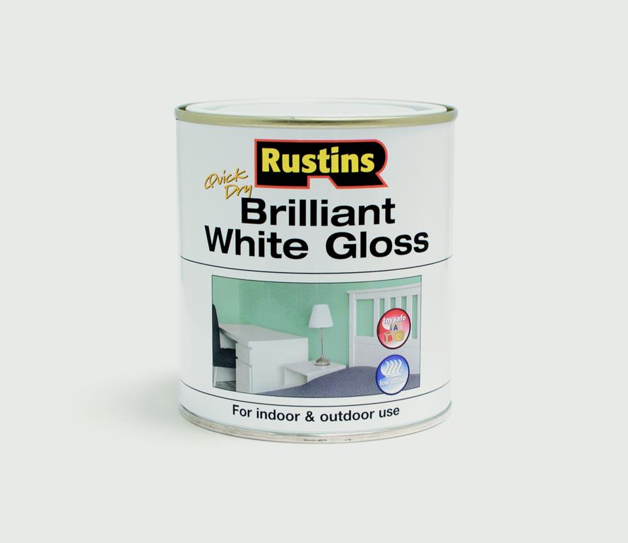 Rustins-Quick Drying White Gloss