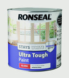 Ronseal-Stays White Ultra Tough Paint