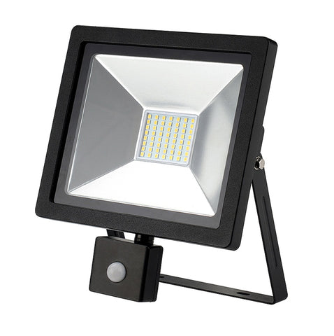 Dencon-LED Slimline Floodlight With PIR 2100L