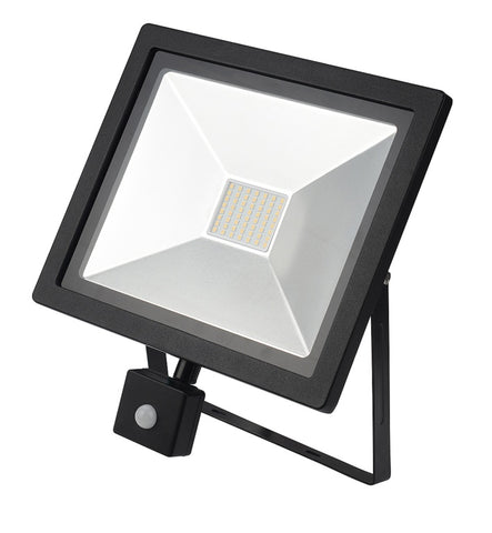 Dencon-LED Slimline Floodlight With PIR IP44 3500L
