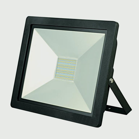 Lyveco-100w LED Floodlight Black IP44 6500k